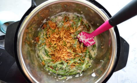 Instant Pot Green Bean Casserole Picture
