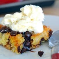 Chocolate Chip Bread Pudding Recipe