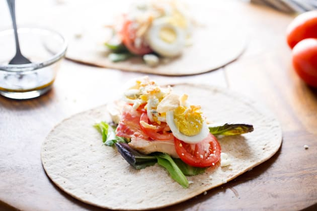 Cobb Salad Wrap Image