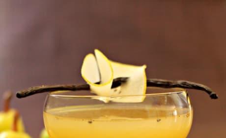 Pear Vanilla Martini Picture