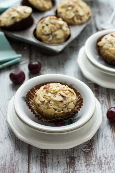 Cherry Chocolate Chip Muffins Image