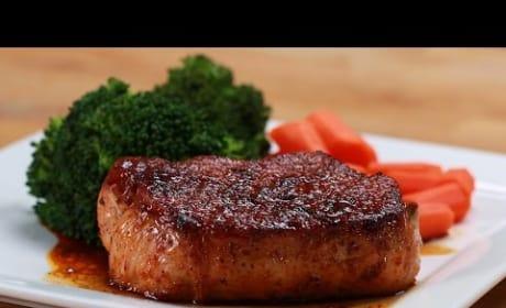 How to Make Easy Glazed Pork Chops