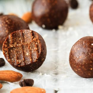 Almond joy energy balls photo