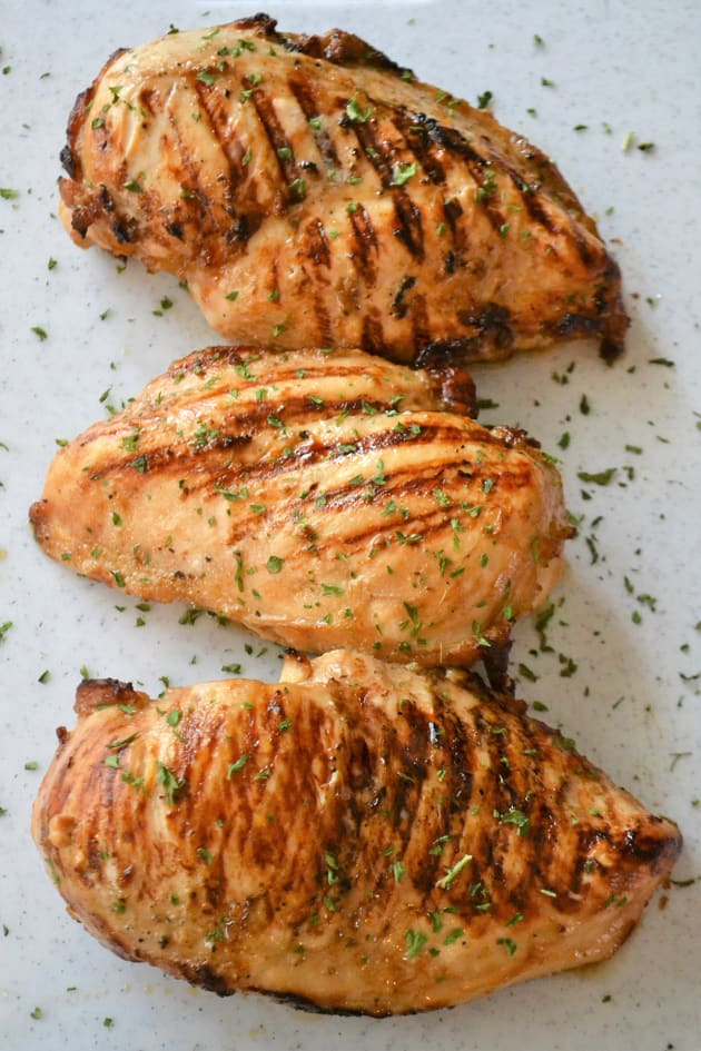 Grill Pan Chicken Breasts Image