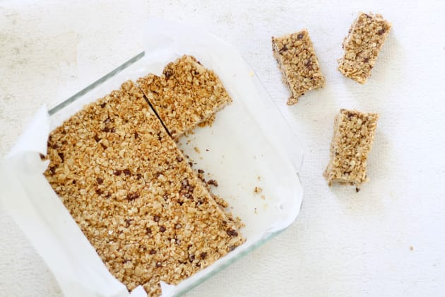 Homemade Chewy Granola Bars Photo