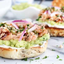 Smoked Salmon Avocado Cream Cheese Bagel Recipe
