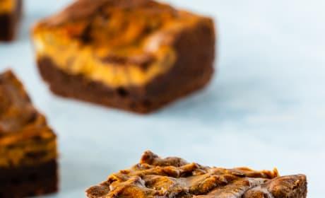 Pumpkin Cheesecake Brownies Pic