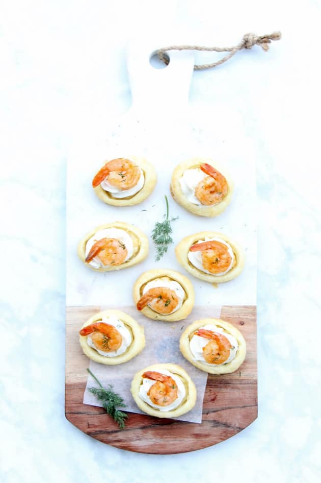 Spicy Shrimp Cream Cheese Tartlets Image