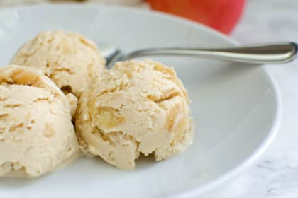 Paleo Apple Pie Ice Cream