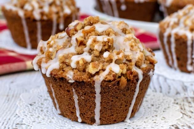 Apple Pecan Streusel Muffins Photo