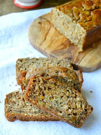 Healthy Peach Banana Bread Picture