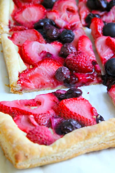 Mixed Berry Tart Picture
