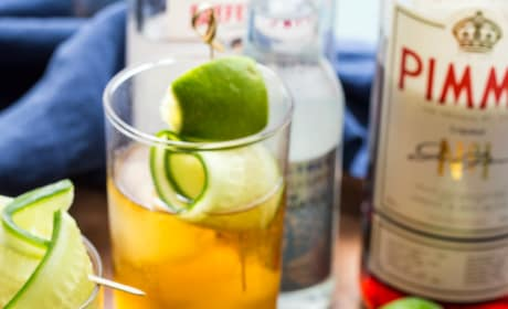 Pimm's and Tonic Image