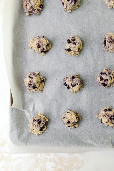 Blueberry Oatmeal Cookies Picture
