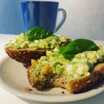 Avocado & Egg Bread Spread