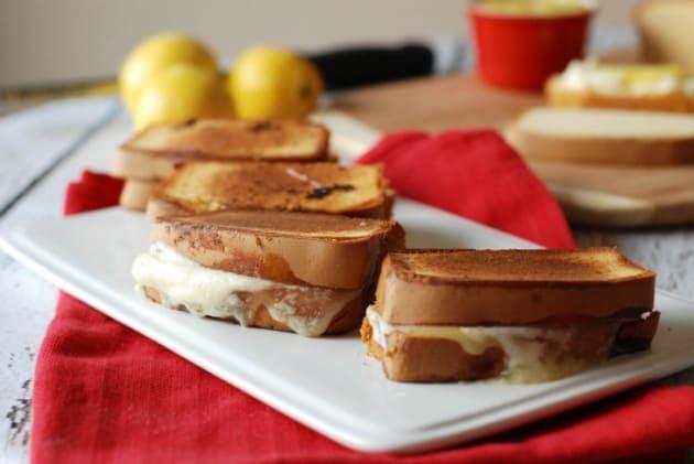 Lemon Mascarpone Grilled Cheese Photo