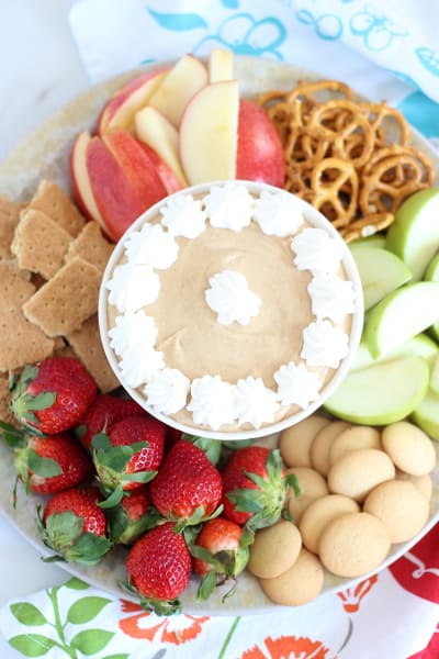5-Minute Peanut Butter Dip Picture