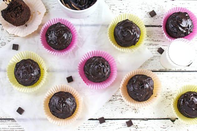 Chocolate Avocado Cupcakes Photo