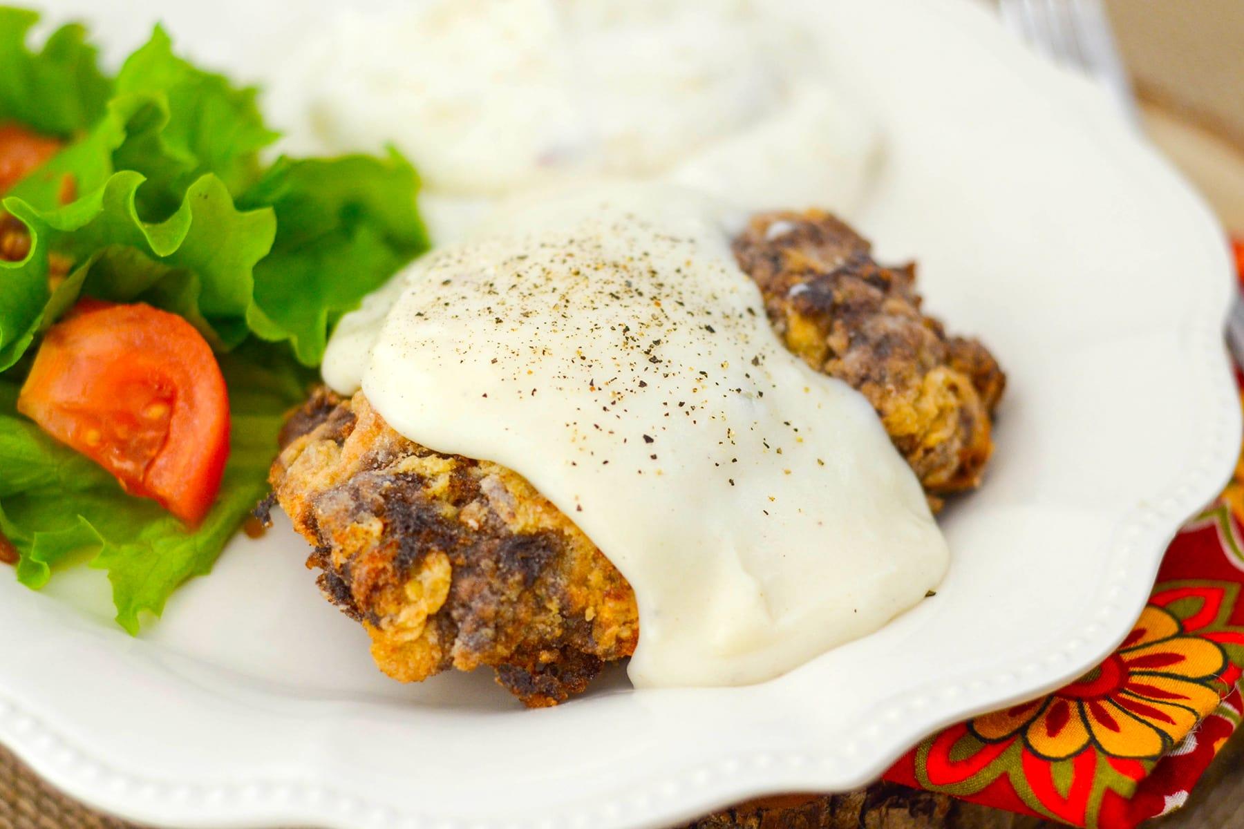 Gluten Free Chicken Fried Steak - Food Fanatic