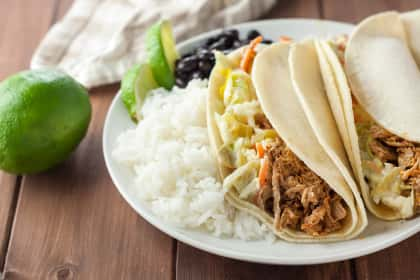 Gluten Free Pulled Pork with Green Chile Slaw