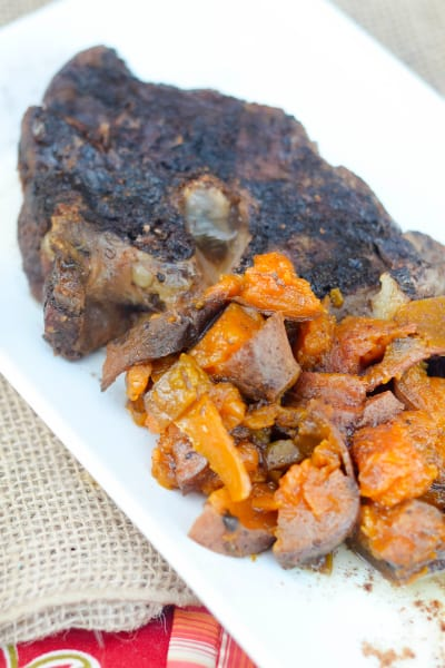 Slow Cooker Roast with Maple Sweet Potatoes Picture
