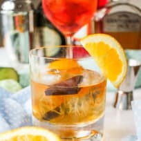 Chocolate Orange Old Fashioned