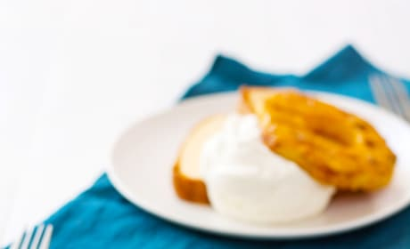 Grilled Pineapple with Mascarpone Whipped Cream Picture