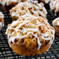 Pumpkin Banana Streusel Muffins Recipe