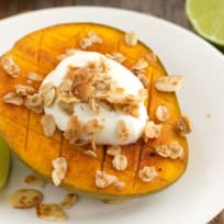 Broiled Mango with Greek Yogurt Recipe
