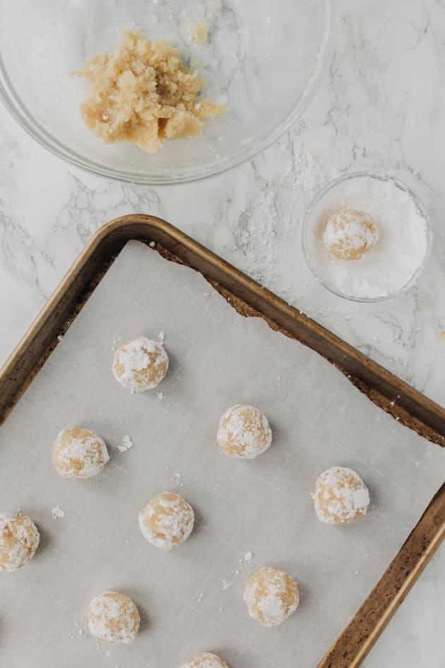 Gluten Free Lemon Crinkle Cookies Recipe Pic