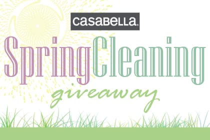 Spring Cleaning Giveaway with Casabella
