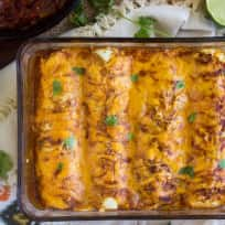Healthy Chicken Enchiladas Recipe