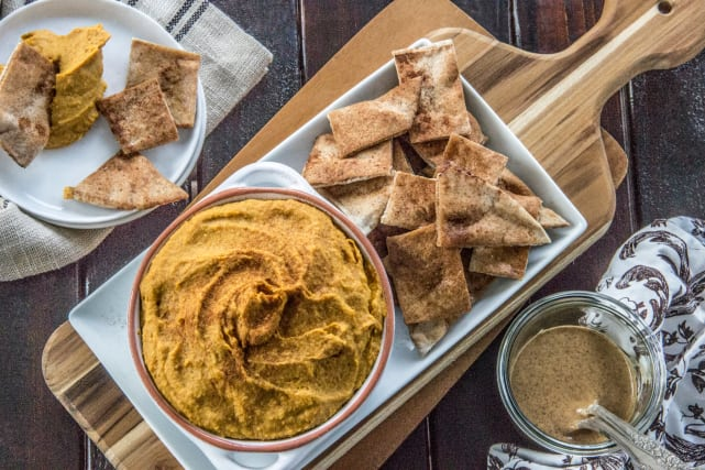 Curry Hummus with Sweet Potato Recipe