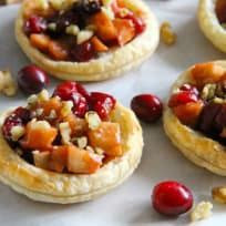 Cranberry Apple Walnut Tarts Recipe