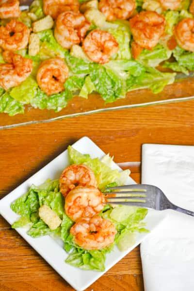 Spicy Shrimp Caesar Picture