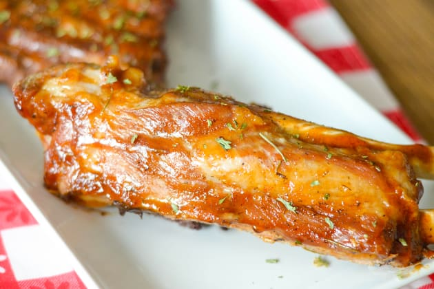 Instant Pot Ribs with Maple Glaze Image