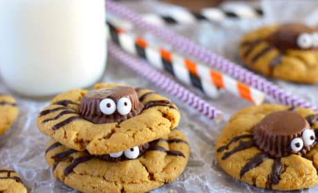 Spider Cookies Recipe