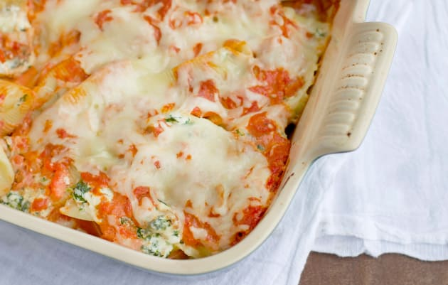 Sausage and Spinach Stuffed Shells Photo