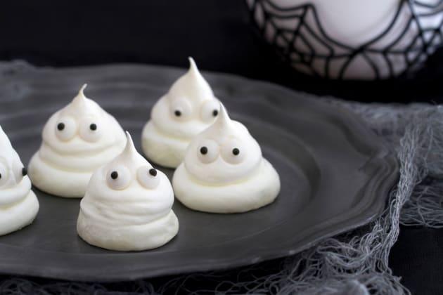 Meringue Ghost Cookies Photo