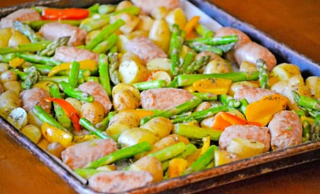Sausage Sheet Pan Dinner Recipe