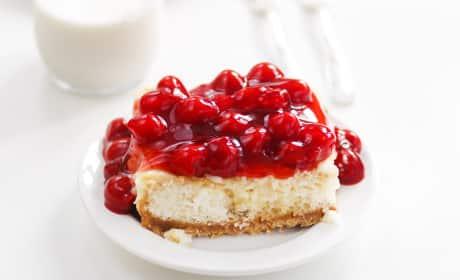 Cherry Cheesecake Poke Cake Recipe