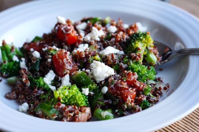 Lemon Quinoa Salad Recipe