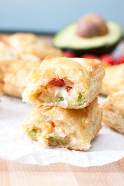 Avocado Cream Cheese Turnovers Pic