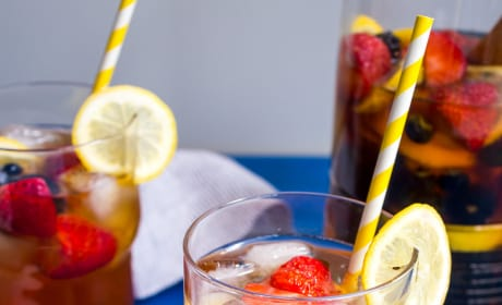 Red Rooibos Tea Sangria Picture