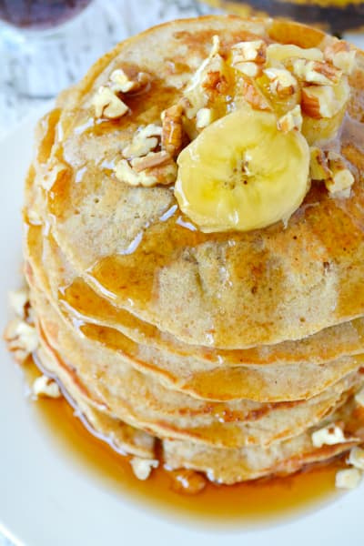 Banana Oat Pancakes Picture