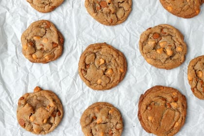 Brown Butter Cinnamon Butterscotch Cookies