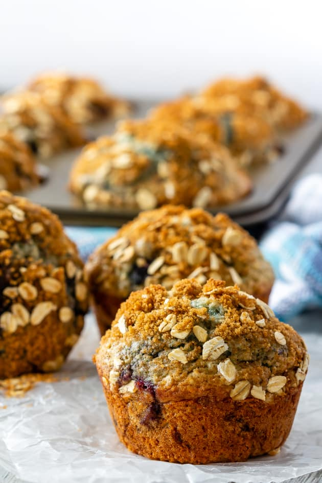 Blueberry Oatmeal Muffins Image