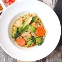 Rad Na - Thai Noodles with Gravy
