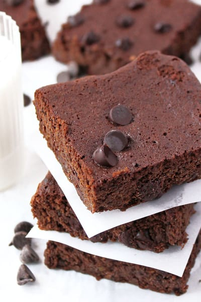 Gluten Free Double Chocolate Bars Picture