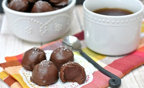 Salted Caramel Truffles Recipe